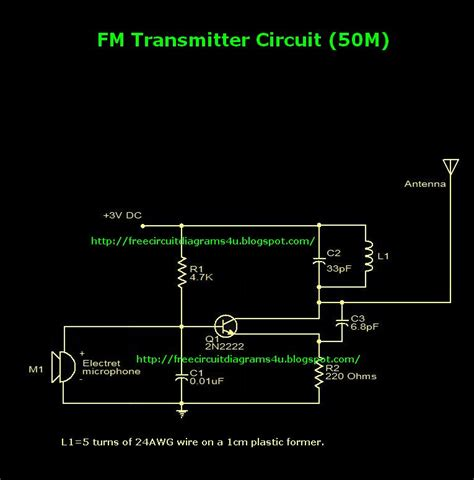 fm transmitter circuit using transistor fm transmitter circuit page 12 rf circuits next gr