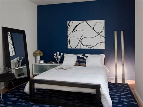 bedrooms with blue walls decorating ideas with navy blue bedroom room decorating