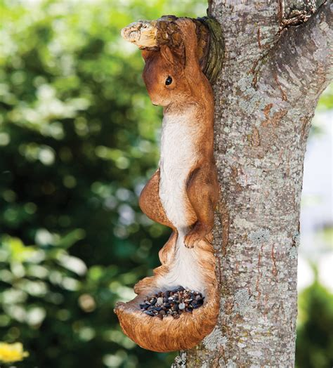hanging squirrel bird feeder clearance