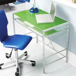 Glass Computer Desk Walmart Mainstays Glass Top Desk Green Furniture Walmart