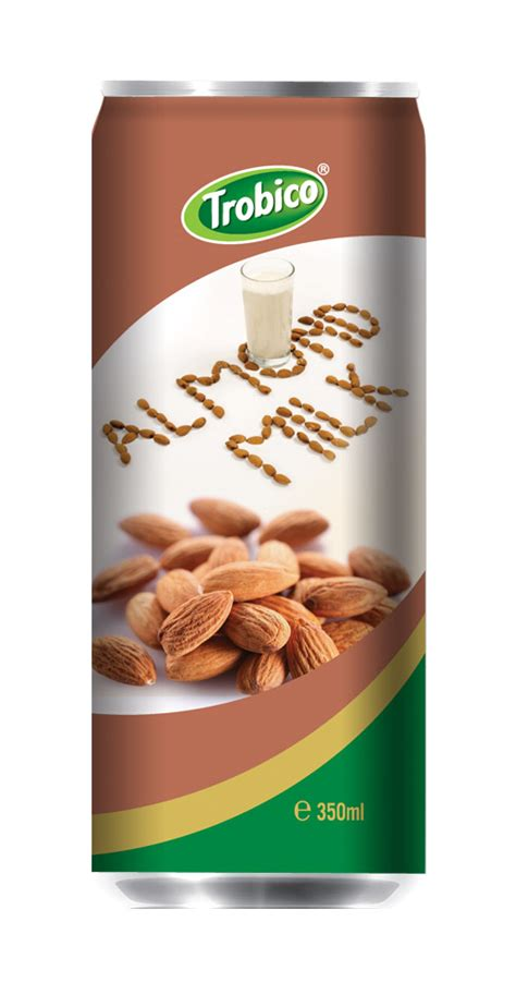 M Lk Almond Almond Milk 350ml milk series trobico oem beverage manufacturers