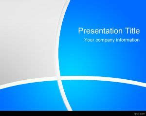 Free Abstract Blue Powerpoint Template Professional Microsoft Powerpoint Templates