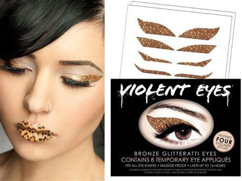eyeliner tattoo violent eyes violent lips introduce violent eyes glitteratti appliques