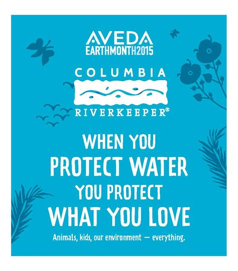 Aveda Celebrates Earth Month by When You Protect Water You Protect What You Animals