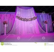 Wedding Stage Stock Photos  Image 19988173