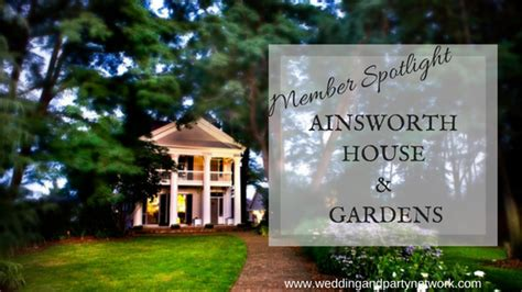 Ainsworth House by Celebration Advisor Wedding And Network