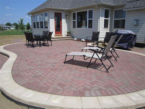 paver patio ideas for enchanting backyard amaza design