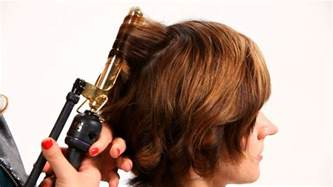 curling iron tip using curling iron on hair pt 1