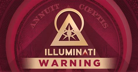 illuminati members illuminati members on and a warning for