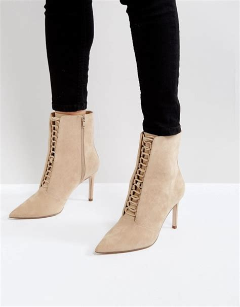 ego boots asos asos ego point lace up boots