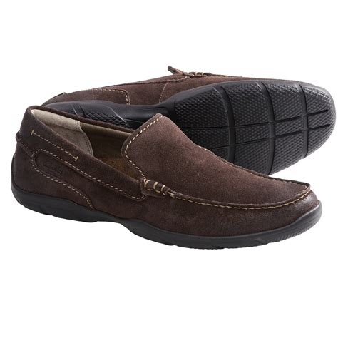 clarks suede loafers clarks ramiro loafer shoes suede for save 44