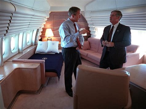 air force one bedroom september 11 2001 the george w bush presidential