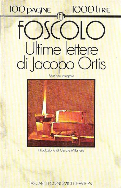 ultime lettere a jacopo ortis ultime lettere di jacopo ortis ugo foscolo 288