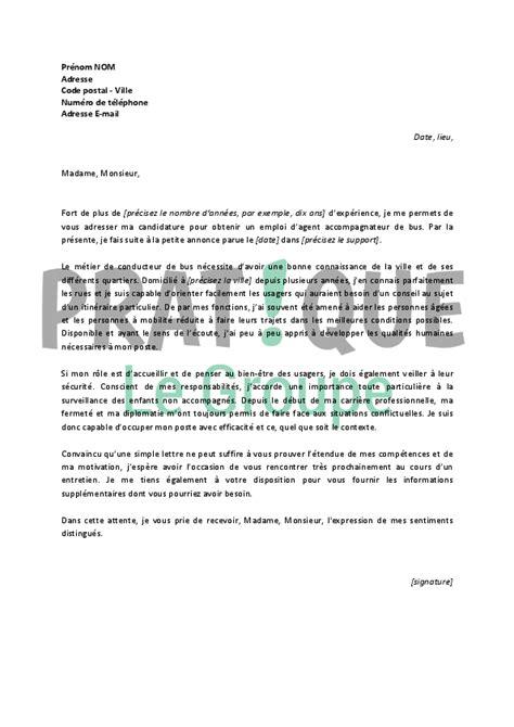 Pr Sentation Lettre De Motivation Dactylographi E lettre de motivation chauffeur de sans permis