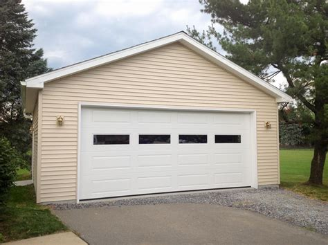 2 door garage 2 car garage door garage kit lowes garage kits lowes