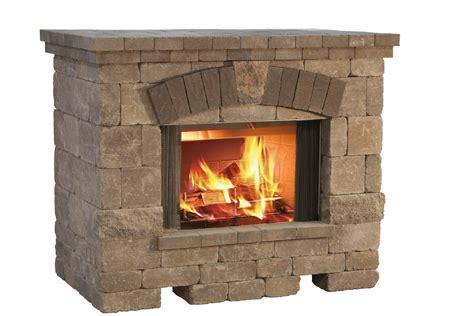 picture fireplace belgard elements outdoor enjoyment fast outdoor