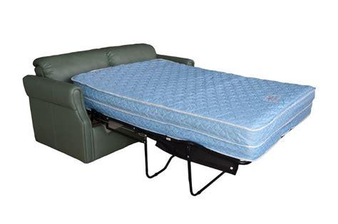 rv sleeper sofa with air mattress flexsteel alder 4633 sleeper sofa glastop inc
