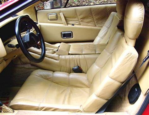 Car Seat Esprit 1984 lotus esprit s3 turbo gentry automobiles