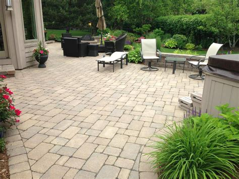 Patio Pavers Chicago Chicago Patio Brick Pavers Aztec Design