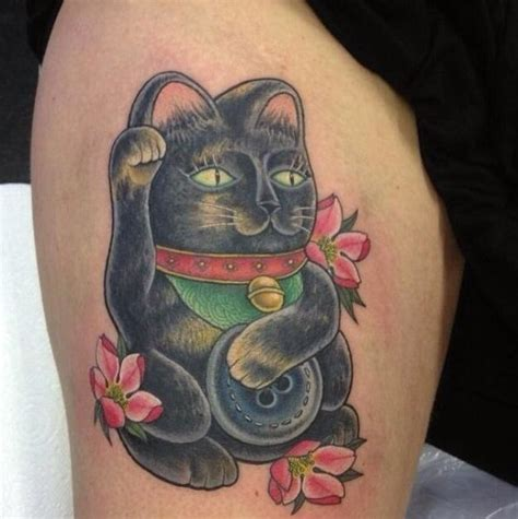 lucky 38 tattoos 38 best images about lucky cat on cats donald