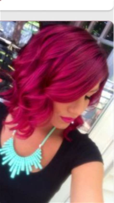 loreal hi color magenta what can i use with loreal hicolor magenta to get a more