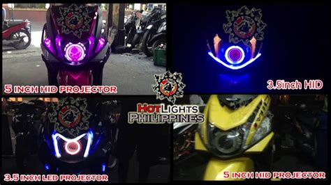 Lu Projector Mio Soul yamaha mio i 125 gtx led n hid projector set up hotlights