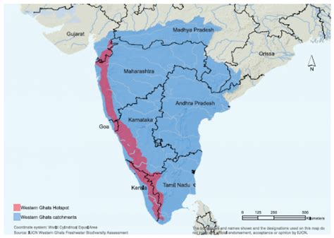 eastern and western ghats western ghats map my blog