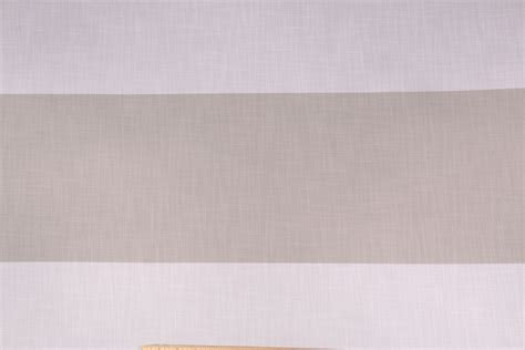 polyester drapery fabric 9 yards robert allen sonesta horizontal wide stripe