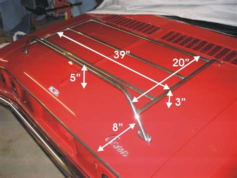 Corvair Luggage Rack by Lm Luggage Rack