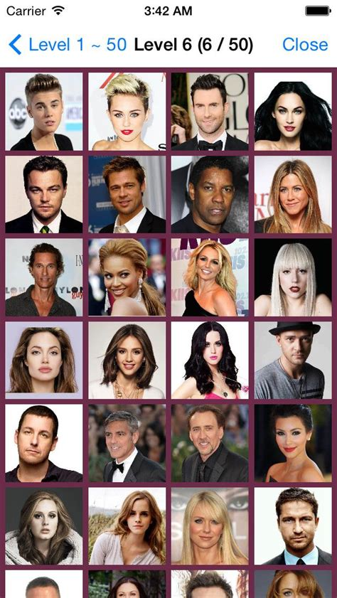 guess the celeb quiz answers cheats and all the answers for celebrity guess guessing