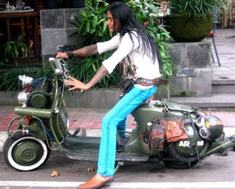 Modifikasi Vespa Bali by Modified Vespa Scooter