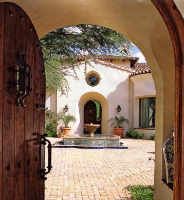 spanish style courtyards 46 best images about houses on pinterest spanish