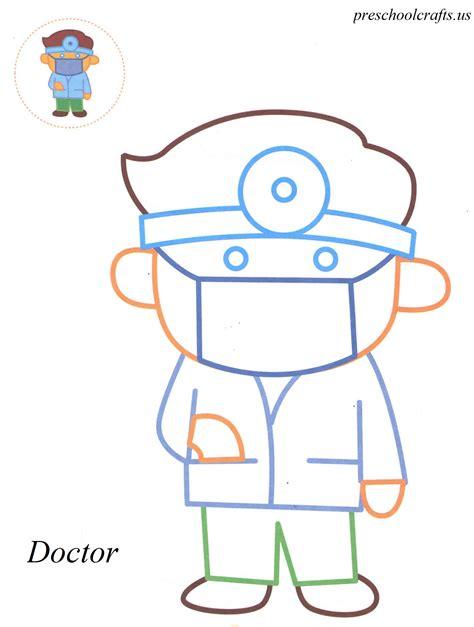 preschool doctor coloring page doctor coloring pages preschool crafts