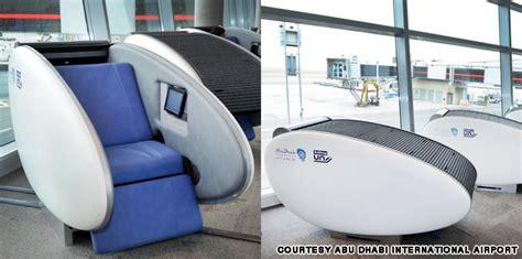 sleeping pods abu dhabi international airport gets world first finnish
