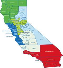map of california cities and counties california counties images
