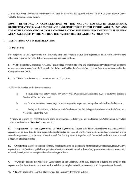 llc subscription agreement template sle subscription agreement best resumes