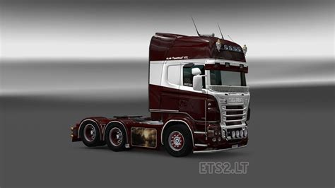 alpha transport scania rjl alpha transport skin ets 2 mods