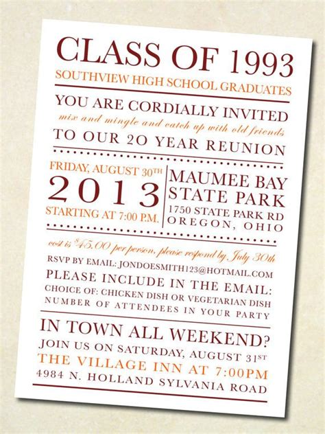 21 best exceptional reunion invites images on pinterest
