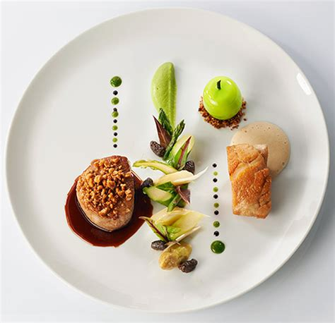 signature food 2 michelin chef st 233 phane buron from the alps coming to vie hotel bangkok