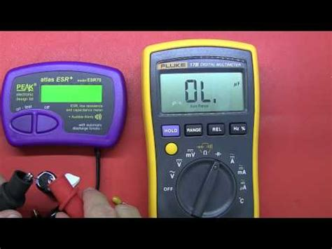 how to check tv capacitor with multimeter how to test a capacitor tv repair help with multimeter and esr tester capacitor how to