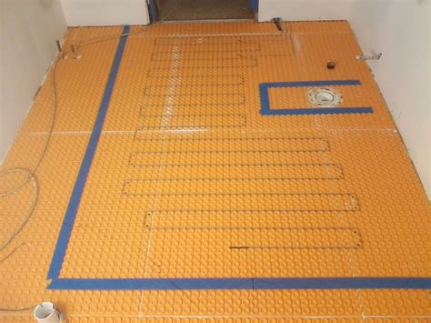 schluter heated floor cost floor matttroy - Ditra Heated Floor Cost