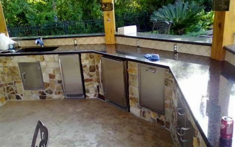kitchen sinks houston texas outdoor refrigerator best houston outdoor refrigerators
