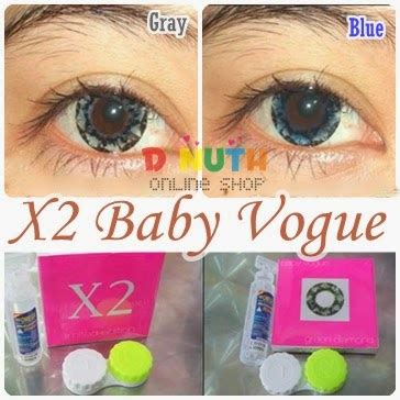 Softlens X2 Black 14 50mm softlens x2 baby vogue dnuth softlens center