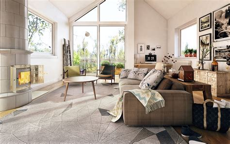 Scandinavian Living | scandinavian living room design ideas inspiration