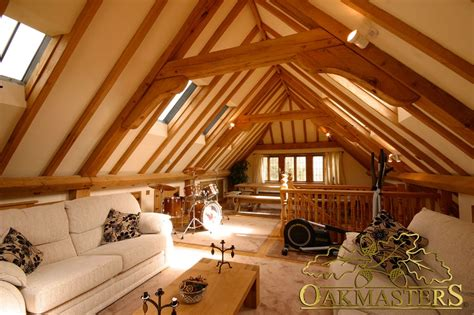 3 Car Garage Plans With Apartment Above 3 bay open oak garage with family loft room oakmasters