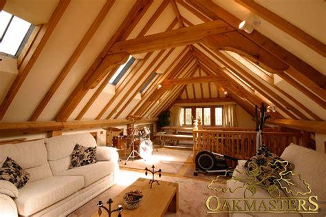 17 best images about above garage loft on pinterest 3 bay open oak garage with family loft room oakmasters