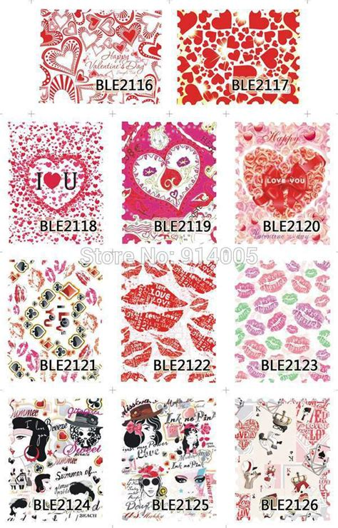 Sticker Water Decal Ble2335 ble2116 2126 nail water sticker nail water decals water transfer nail decal of the