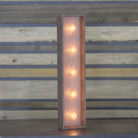 Letter Home Decor Edison Marquee Letter Quot I Quot Town Amp Country Event Rentals