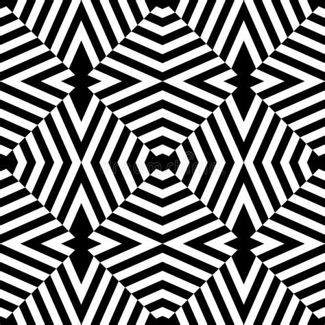 print pattern geometric 1780674147 vector modern seamless geometry pattern trippy black and white abstract stock vector