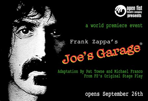 Joes Garage Lyrics by Zappa S Operas And